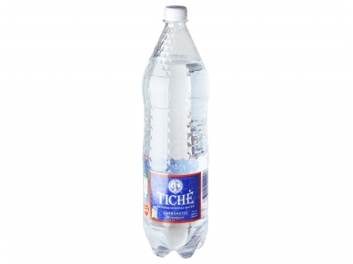 Vanduo Tichė pet gaz. 1,5 l