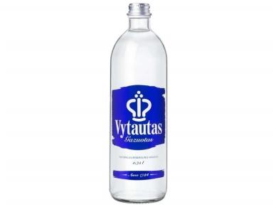 Vanduo Vytautas stikle gaz. 0,75 l