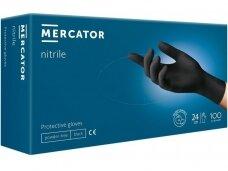 Vienkartinės pirštinės Mercator Nitrile (M)