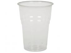 Vienkartinės stiklinės BIO (400 ml) 50 vnt