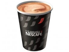 Vienkartiniai Nescafe puodeliai su dangteliais (180 ml) 60 vnt