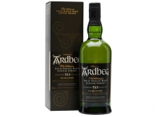 Viskis Ardbeg Islay Single Malt 10 YO su dėž. 0,7 l