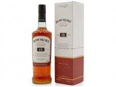 Viskis Bowmore 15 YO su dėž. 0,7 l