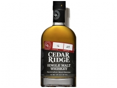 Viskis Cedar Ridge Single Malt 0,7 l