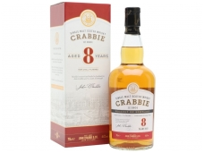 Viskis Crabbies Single Malt 8 YO 0,7 l
