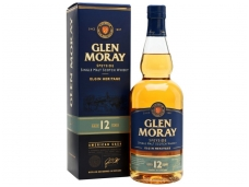 Viskis Glen Moray Speyside Single Malt 12 YO su dėž. 0,7 l