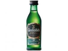Viskis Glenfiddich 12 YO 0,05 l mini