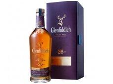 Viskis Glenfiddich 26 YO su dėž. 0,7 l