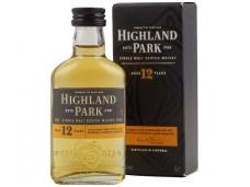 Viskis Highland Park 12 YO su dėž. 0,05 l