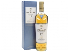 Viskis Macallan 12 YO Triple Cask Matured Single Malt su dėž. 0,7 l