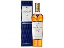 Viskis Macallan 15 YO Double Cask Single Malt su dėž. 0,7 l