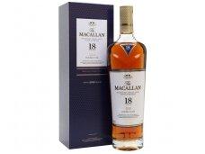 Viskis Macallan 18 YO Old Double Cask Single Malt su dėž. 0,7 l