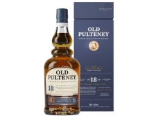 Viskis Old Pulteney 18 YO Single Malt su dėž. 0,7 l