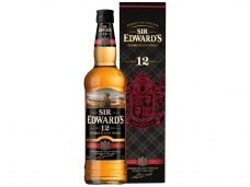 Viskis Sir Edwards 12 YO su dėž. 0,7 l
