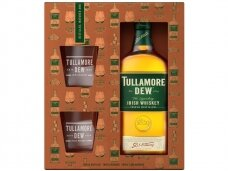 Viskis Tullamore D.E.W. su taurėm 0,7 l