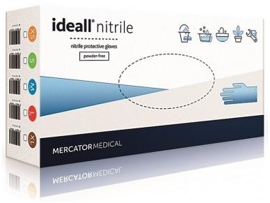Vienkartinės nitrilinės pirštinės Ideal Nitril (L)