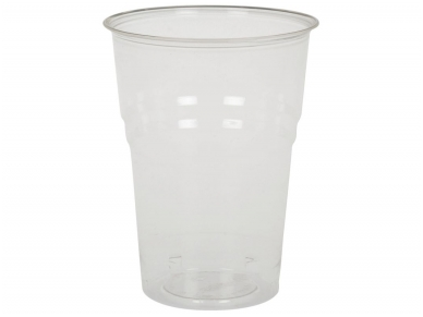 Vienkartinės stiklinės BIO (300 ml) 50 vnt