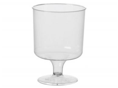 Vienkartinės vyno taurės (190 ml) 8 vnt