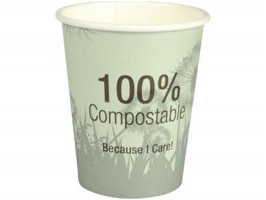 Vienkartiniai puodeliai BIO (240 ml) 50 vnt