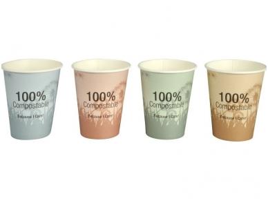 Vienkartiniai puodeliai BIO (240 ml) 50 vnt 2