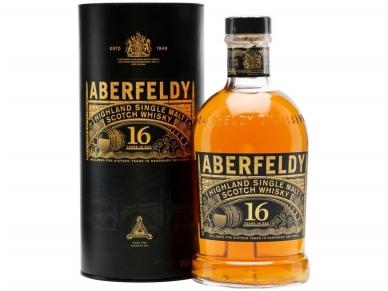 Viskis Aberfeldy 16 YO su dėž. 0,7 l
