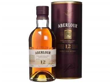 Viskis Aberlour Single Malt 12 YO su dėž. 0,7 l 2