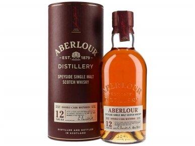 Viskis Aberlour Single Malt 12 YO su dėž. 0,7 l