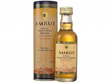 Viskis Amrut Cask Strength 0,05 l mini