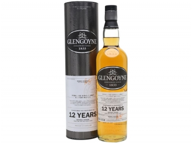 Viskis Glengoyne Single Malt 12 YO 0,7 l