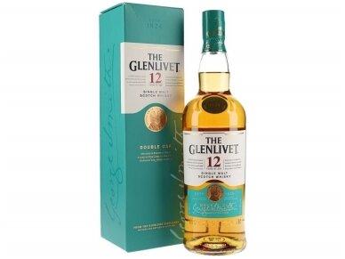 Viskis Glenlivet 12 YO su dėž. 0,7 l