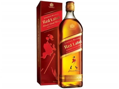 Viskis J.Walker Red Label su dėž. 0,7 l