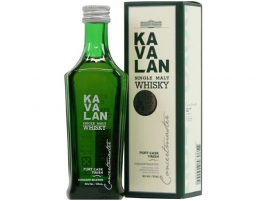 Viskis Kavalan Concertmaster Port Cask Finish 0,05 l mini