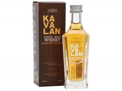 Viskis Kavalan Single Malt 0,05 l mini
