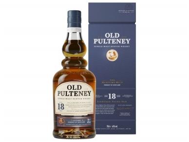 Viskis Old Pulteney 18 YO Single Malt su dėž. 0,7 l