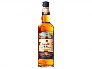 Viskis Sir Edwards Smoky 0,7 l