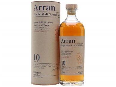 Viskis The Arran 10 YO Single Malt su dėž. 0,7 l