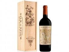 Vynas Silk & Spice Red Blend su dėž. 0,75 l