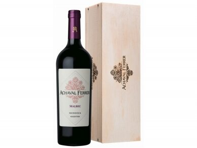Vynas Achaval Ferrer Malbec Mendoza su dėž. 0,75 l