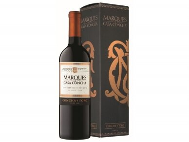 Vynas Marques de Casa Concha Cabernet Sauvignon su dėž. 0,75 l