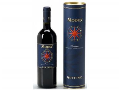 Vynas Ruffino Modus Toscana I.G.T. su dėž. 0,75 l